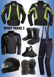 Bilde av   SPORT PAKKE 3:Full pakke,jakke,bukse,støvler,hjelm,hanske,ha
